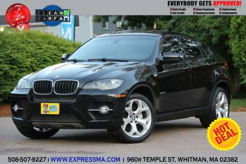 2008 BMW X6 for sale at Auto Sales Express in Whitman MA