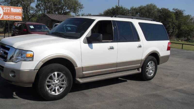 2012 Ford Expedition EL for sale at 277 Motors in Hawley TX