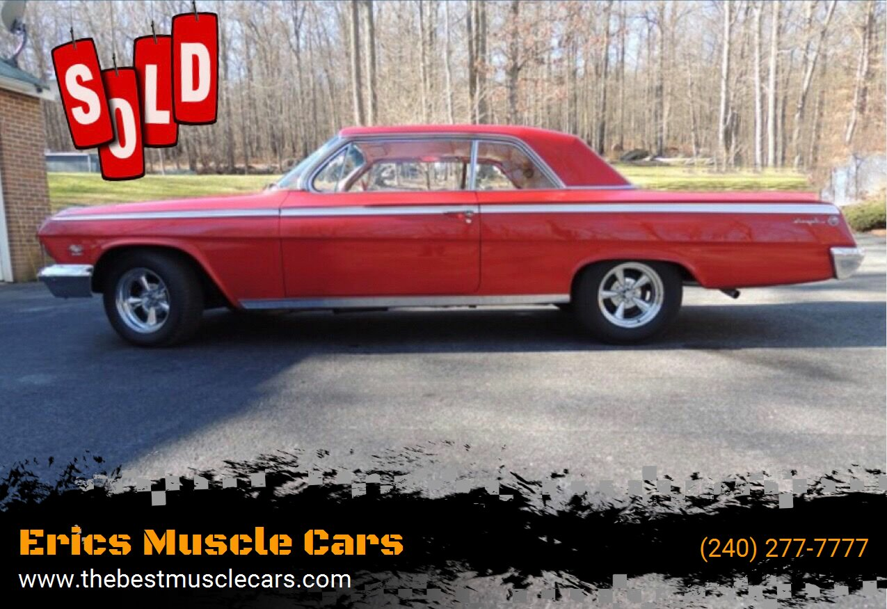 1962 Chevrolet Impala SS SOLD SOLD SOLD