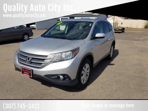 2012 Honda CR-V for sale at Quality Auto City Inc. in Laramie WY