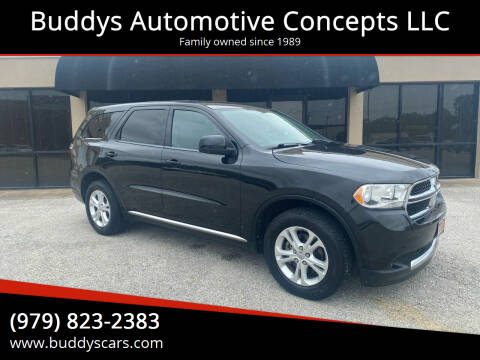 2012 Dodge Durango for sale at Buddys Automotive Concepts LLC in Bryan TX