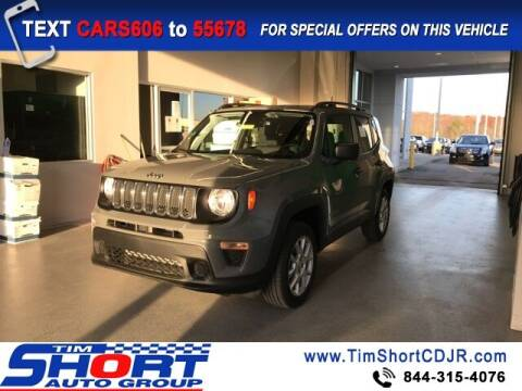 2021 Jeep Renegade for sale at Tim Short Chrysler in Morehead KY