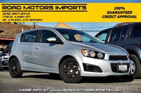 2012 Chevrolet Sonic for sale at Road Motors Imports in El Cajon CA