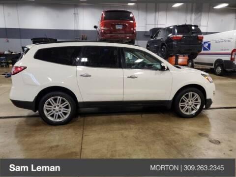 2013 Chevrolet Traverse for sale at Sam Leman CDJRF Morton in Morton IL