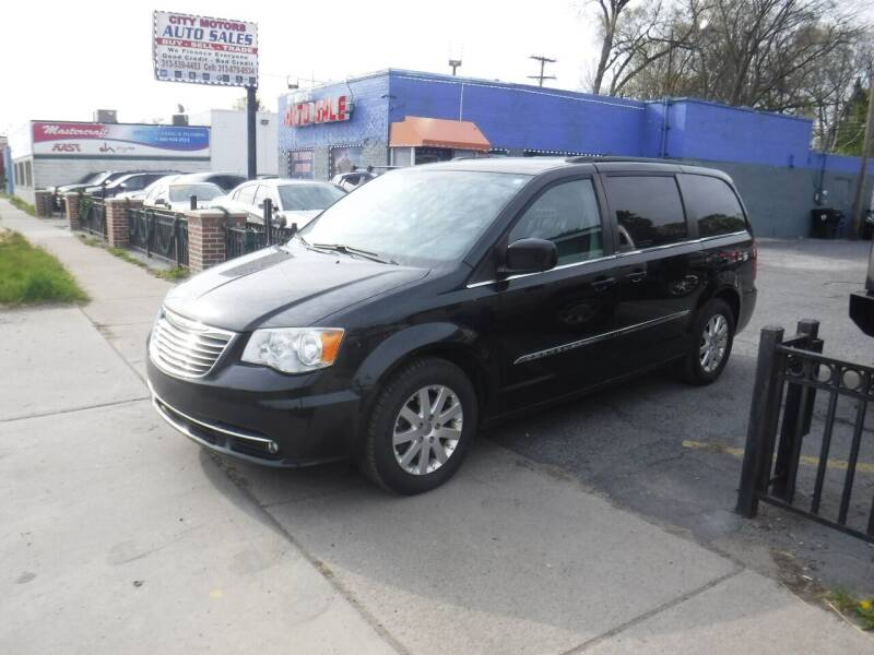 2014 Chrysler Town and Country for sale at City Motors Auto Sale LLC in Redford MI