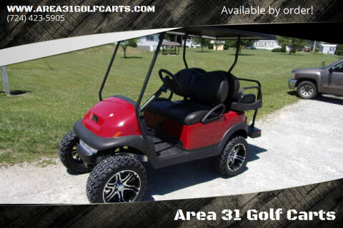 2021 Club Car Lifted Golf Cart Village Gas 4 Passenger for sale at Area 31 Golf Carts - Gas 4 Passenger in Acme PA