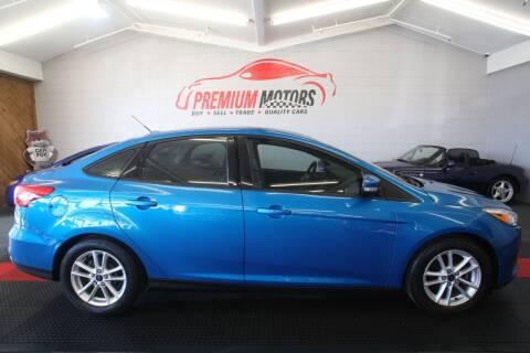 2015 Ford Focus for sale at Premium Motors in Villa Park IL