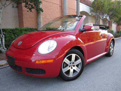 2006 Volkswagen New Beetle Convertible for sale at FLORIDACARSTOGO in West Palm Beach FL