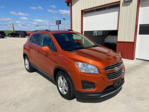 2016 Chevrolet Trax for sale at SCOTT LEMAN AUTOS in Goodfield IL