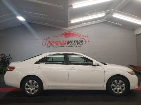 2010 Toyota Camry for sale at Premium Motors in Villa Park IL