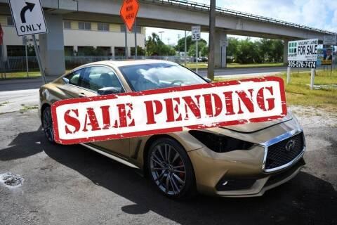 2017 Infiniti Q60 for sale at STS Automotive - Miami, FL in Miami FL