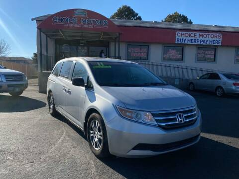 2011 Honda Odyssey for sale at Choice Motors of Salt Lake City in West Valley  City UT