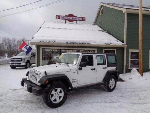 2013 Jeep Wrangler Unlimited for sale at SCHURMAN MOTOR COMPANY in Lancaster NH
