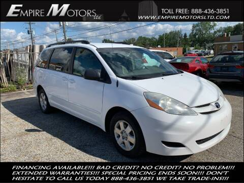 2008 Toyota Sienna for sale at Empire Motors LTD in Cleveland OH