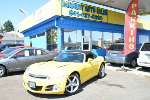 2008 Saturn SKY for sale at Earnest Auto Sales in Roseburg OR