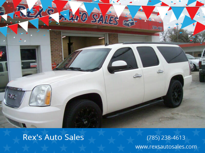 2009 GMC Yukon XL for sale at Rex's Auto Sales in Junction City KS