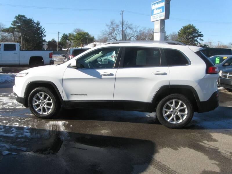2014 Jeep Cherokee for sale at MCQUISTON MOTORS in Wyandotte MI