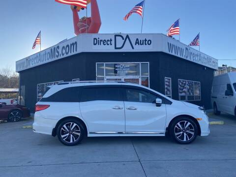 2018 Honda Odyssey for sale at Direct Auto in D'Iberville MS