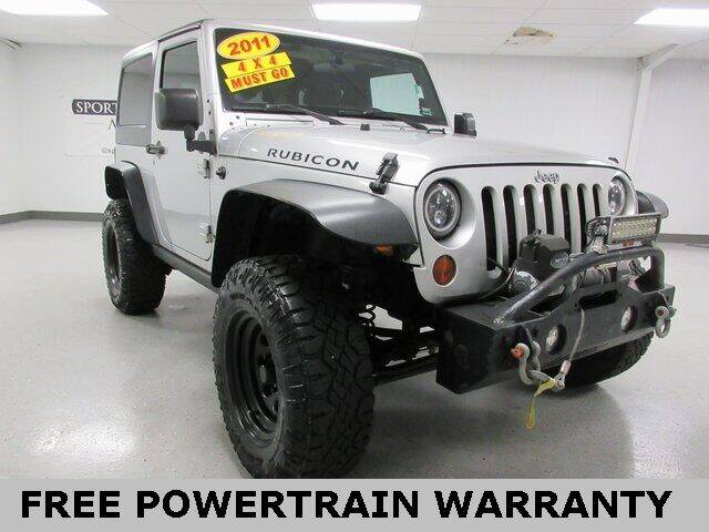 2011 Jeep Wrangler for sale at Sports & Luxury Auto in Blue Springs MO