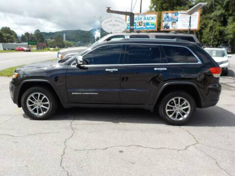 2015 Jeep Grand Cherokee for sale at EAST MAIN AUTO SALES in Sylva NC