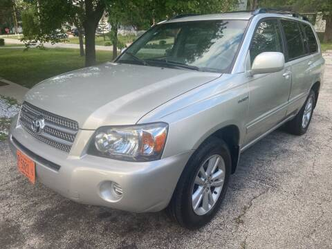 2007 Toyota Highlander Hybrid for sale at Global Auto Finance & Lease INC in Maywood IL