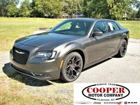 2019 Chrysler 300 for sale at Cooper Motor Company in Clinton SC