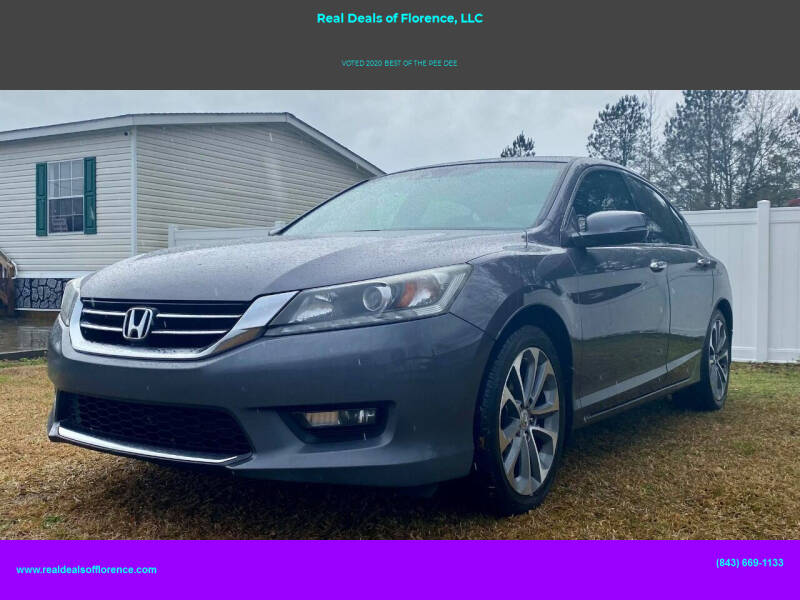 2014 Honda Accord for sale at Real Deals of Florence, LLC in Effingham SC