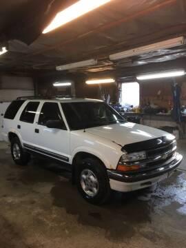 2000 Chevrolet Blazer for sale at Lavictoire Auto Sales in West Rutland VT