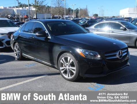 2016 Mercedes-Benz C-Class for sale at Carol Benner @ BMW of South Atlanta in Union City GA