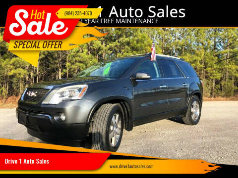 2011 GMC Acadia for sale at Drive 1 Auto Sales in Wake Forest NC