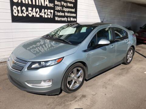 2012 Chevrolet Volt for sale at Cartina in Tampa FL