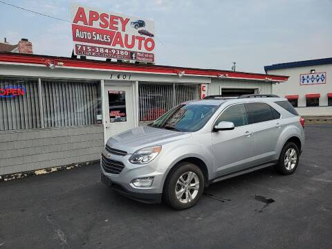 2016 Chevrolet Equinox for sale at Apsey Auto 2 in Marshfield WI