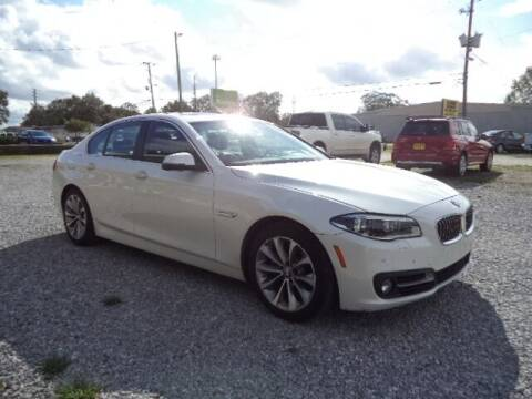 2016 BMW 5 Series for sale at PICAYUNE AUTO SALES in Picayune MS