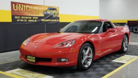2007 Chevrolet Corvette for sale at UNIQUE SPECIALTY & CLASSICS in Mankato MN