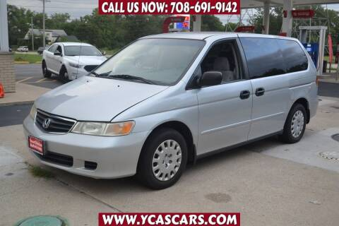 2002 Honda Odyssey for sale at Your Choice Autos - Crestwood in Crestwood IL