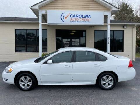 2012 Chevrolet Impala for sale at Carolina Auto Credit in Youngsville NC