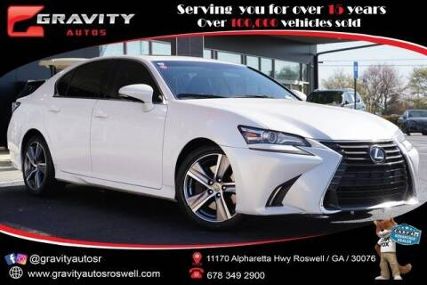 2016 Lexus GS 200t for sale at Gravity Autos Roswell in Roswell GA