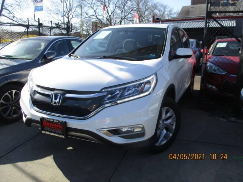 2016 Honda CR-V for sale at Newark Auto Sports Co. in Newark NJ