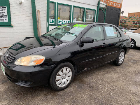 2004 Toyota Corolla for sale at Barnes Auto Group in Chicago IL