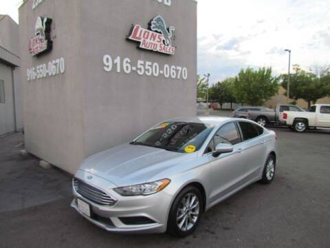 2017 Ford Fusion for sale at LIONS AUTO SALES in Sacramento CA