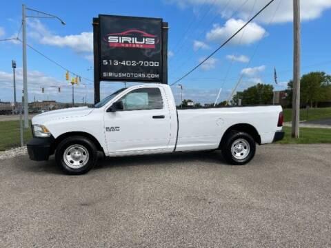 2017 RAM Ram Pickup 1500 for sale at SIRIUS MOTORS INC in Monroe OH