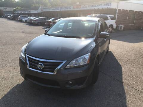 2015 Nissan Sentra for sale at REGIONAL AUTO CENTER in Stafford VA