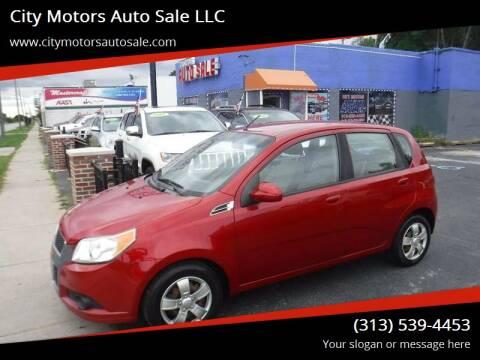 2011 Chevrolet Aveo for sale at City Motors Auto Sale LLC in Redford MI