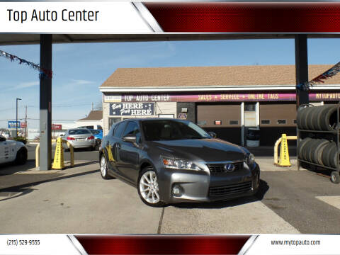 2012 Lexus CT 200h for sale at Top Auto Center in Quakertown PA