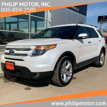 2014 Ford Explorer for sale at Philip Motor Inc in Philip SD