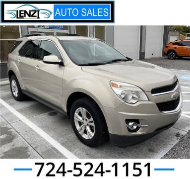 2012 Chevrolet Equinox for sale at LENZI AUTO SALES in Sarver PA