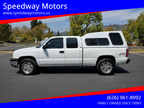 2004 Chevrolet Silverado 1500 for sale at Speedway Motors in Glendora CA