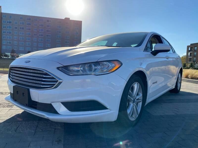 2018 Ford Fusion Hybrid for sale in Dallas, TX