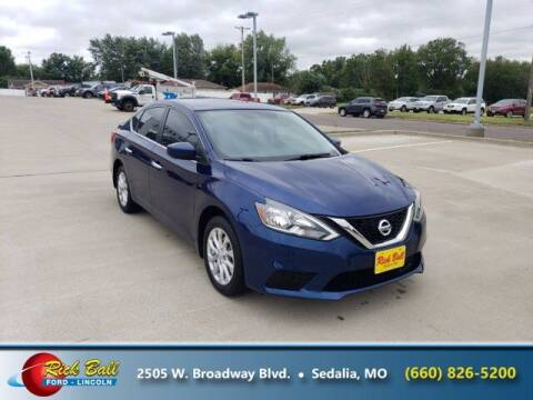 2018 Nissan Sentra for sale at RICK BALL FORD in Sedalia MO