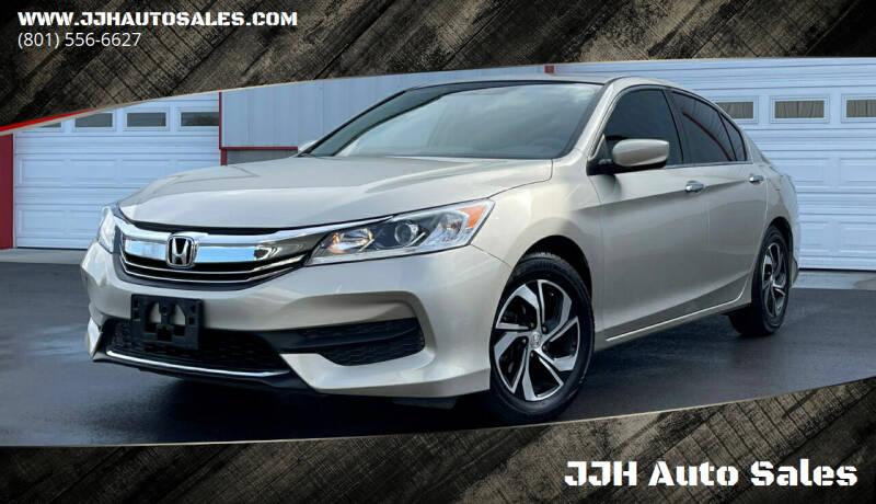 2017 Honda Accord for sale at JJH Auto Sales in Salt Lake City UT